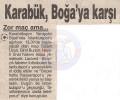 NOSTALJİ| Karabükspor – İstanbulspor |24.01.1998